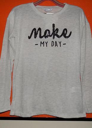 Тоненький свитшот свитерок джемпер s-м от lc waikiki