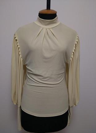 Блуза кофточка жемчуг