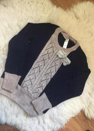 Кофта свитер джемпер нарядный на 8-10 лет