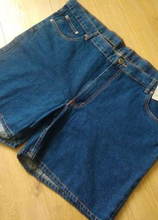 Якісні джинсові шорти c&a 60р./качественные короткие  джинсовые шорты/большой размер
