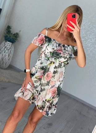 Платье сарафан шифоновый 92 см