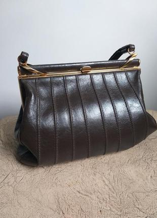 Брендовая сумка оригинал. кожаная сумка. сумочка. клатч натуральная кожа.