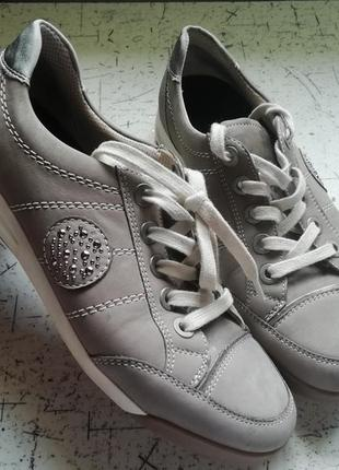 Ботинки женские кожа кроссовки кросівки arа оригинал
