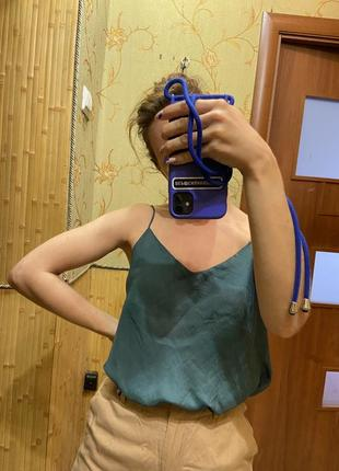Нарядная блуза майка