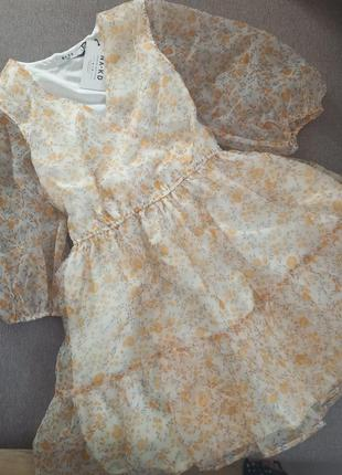 Платье из органзи тренд