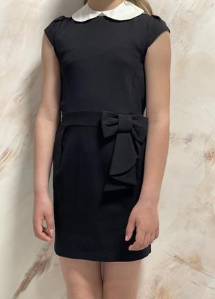 Школьное платье 128-134