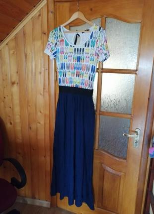 Платье сарафан длинное