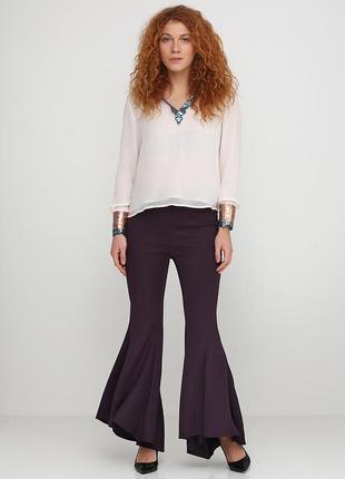 Фіолетові штани(кльош) uterque.уцінка.