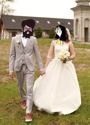 Красиве весільне плаття😍