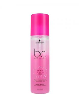 Спрей для волос schwarzkopf bc ph 4,5 color freeze spray conditioner, для окрашенных волос