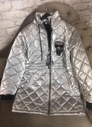 Шикарное пальто стрази