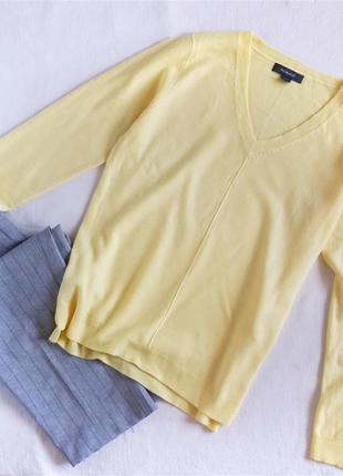 Лимонный свитер тонкий primark