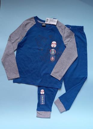 Пижама, пижама для мальчика,  синяя пижама