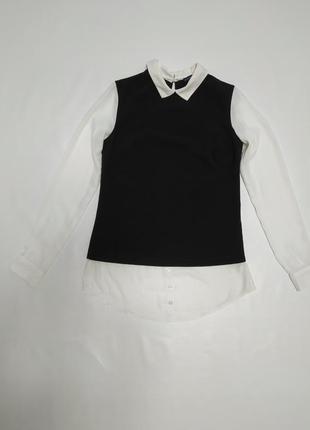 Цельная рубашка с жилетом atmosphere (8)