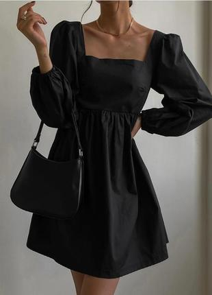 Шикарное платье с бантом на спине