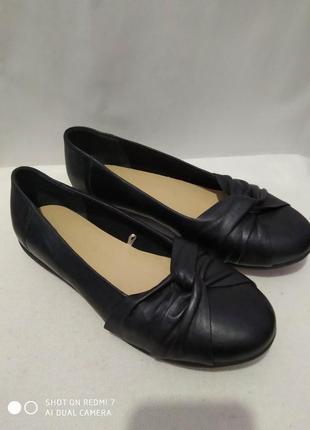 Новые (сток) кожаные туфли jd williams