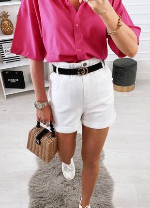 Крутые джинсовые шорты багги