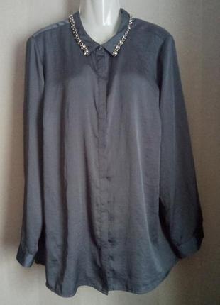 Элегантная блуза батал