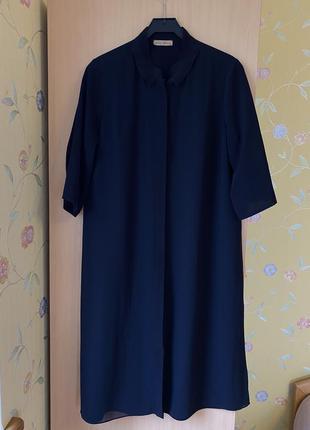 Блуза платье рубаха mon cheri черная