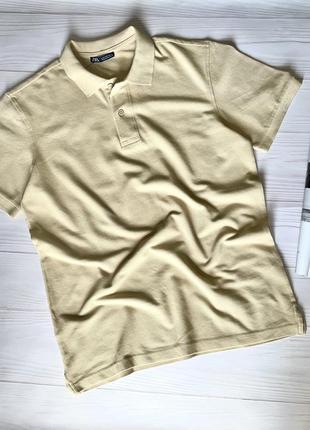Мужская футболка поло zara