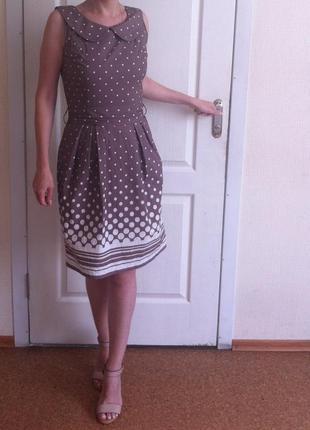 Платье в горошек от  doroty perkin