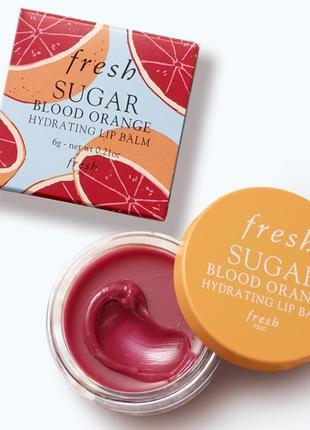 Бальзам для губ sugar blood orange hydrating lip balm fresh