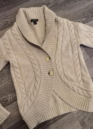 Кашемировый ангоровый кардиган свитер кофта max mara (zara massimo dutti mango