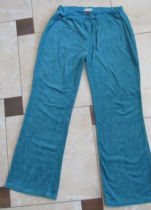 Летние спортивны  брюки велюр denim co, летние спортивные штаны denim co размер l