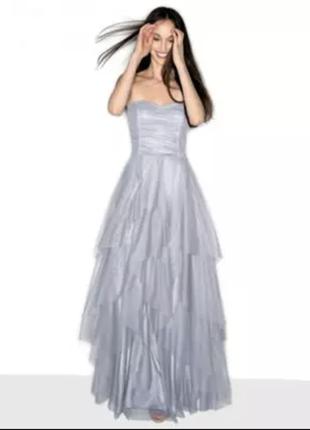 Вечернее/выпускное/свадебное платье naf naf