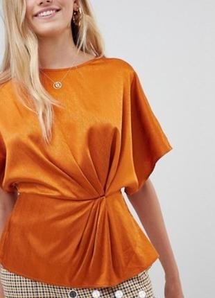 Очень красивая блуза от new look рр 12 наш 46