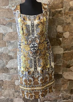 Платье в стиле roberto cavalli