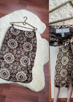 Стильна віскозна юбка із розрізами - we women