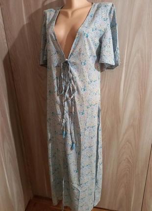 Накидка платье туника халат