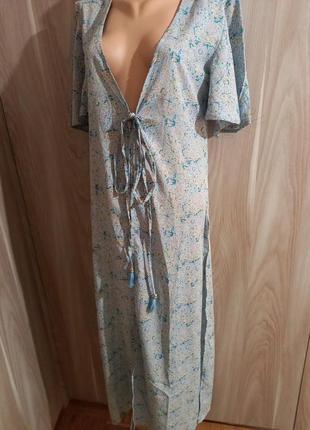 Накидка платье туника халат8 фото