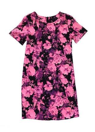 Платье с цветочным принтом new look