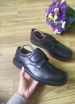 Шкіряні туфлі marks & spencer