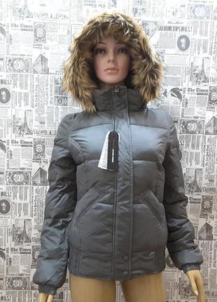 Бомбезная супертёплая куртка-пуховик miss sixty, uk 6,xs, наш 40,италия