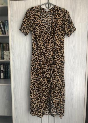 Стильное женственное платье в принт nyshina