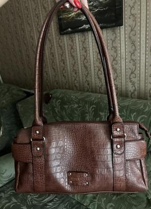 Стильная сумка багет gerry weber ретро