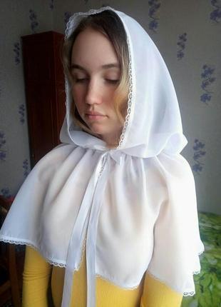 Платок в храм,  на крестины,  венчания