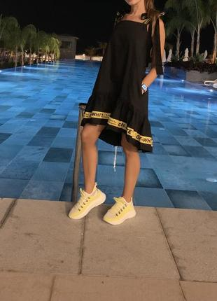 Платье off white