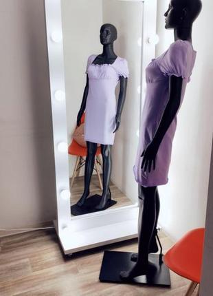 Потрясающе нежное бозовое лиловое платье ✨