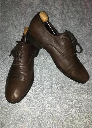 Кожаные туфли geox 46р.