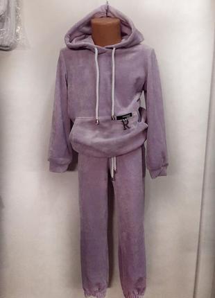 Велюровий спортивний костюм, дитячий спортивний костюм