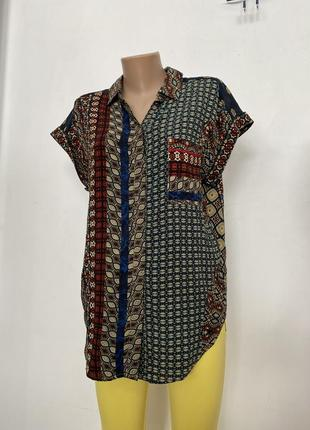 Desigual блузка рубашка женская оригинал