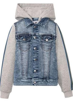 Стильная джинсовая куртка 134 pepperts.