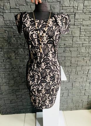 Платье top shop 8uk s-m