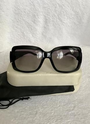 Marc jacobs оригинал, очки солнцезащитные в твёрдом футляре.2 фото