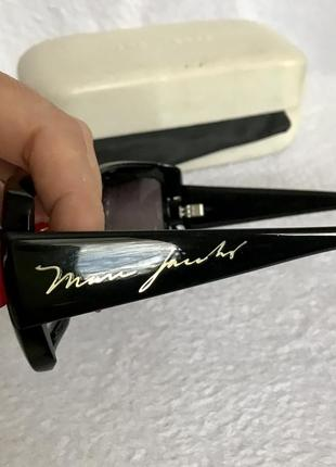 Marc jacobs оригинал, очки солнцезащитные в твёрдом футляре.3 фото