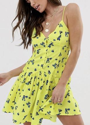 Новое брендовое легкое стильное платье с биркой asos